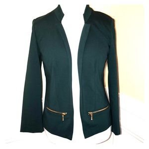 Chico's Emerald Jade Blazer Size 0